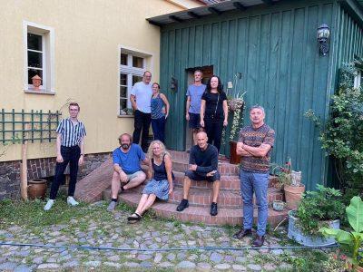 Mitglieder des neugegründeten Regionalverbands Oderbruch Nordost
